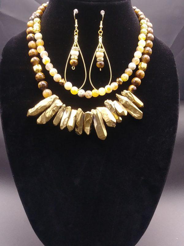"""""""Sade"""" Women Necklace Set"""