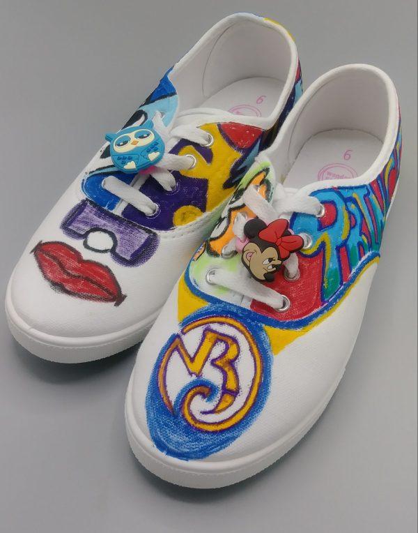 Graffiti Tag Shoes