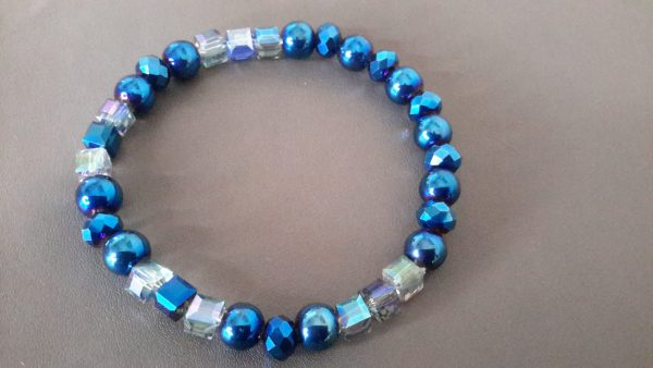 Ice Blue Men's Bracelet