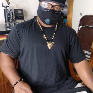 Rodney Wear Men Panther Necklace Set