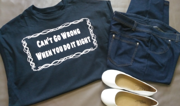 Can't Go Wrong When You Do It Right Unisex Tee
