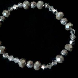 Grey And Silver Men's Bracelet