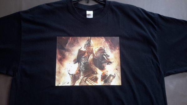 Armor Of God Men's Black Crewneck Tee