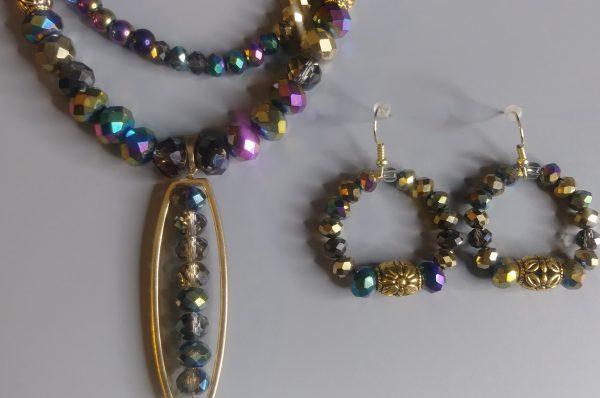 Multi Neck Pieces Prism For Women