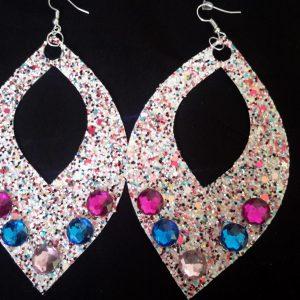 X Large Teardrop Earrings