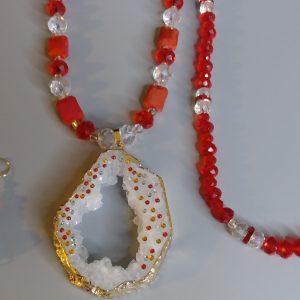 Dorothy Longer Charm Necklace