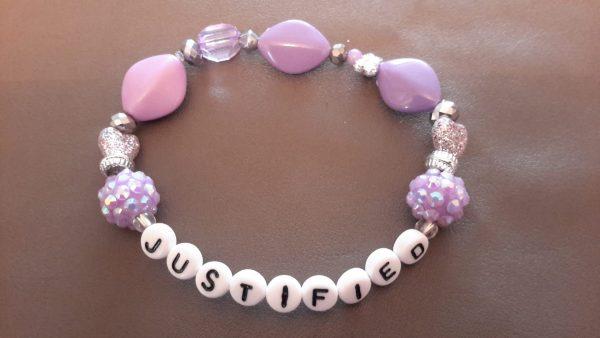 Roll-On Lavender Justified Bracelet