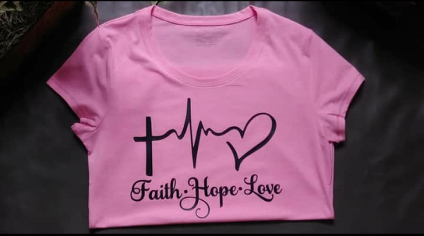 Faith Hope Love (In Crewneck Tee)