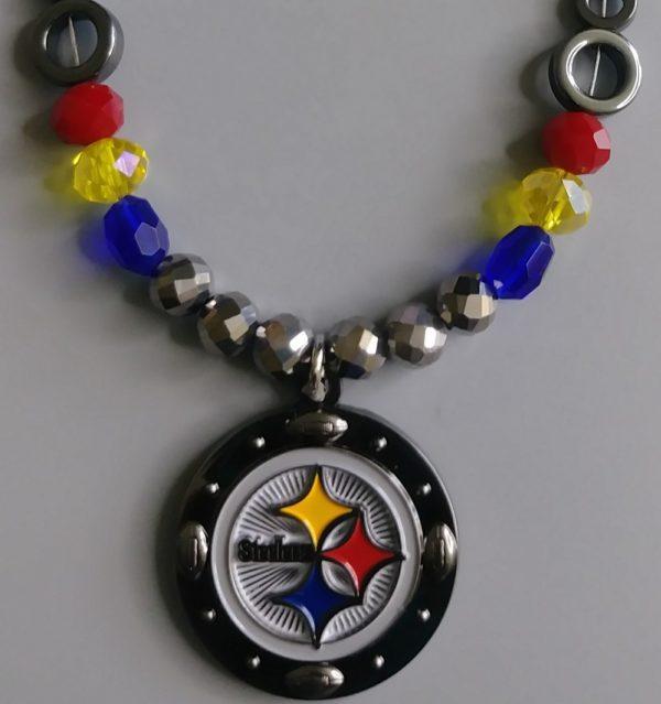 Pittsburg Steelers Metal Men Necklace