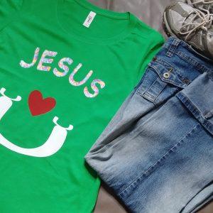 Jesus Loves U (In Crewneck Tee)