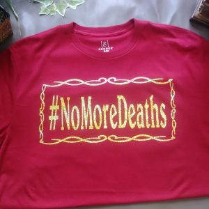 Holographic No More Deaths Unisex T-Shirt
