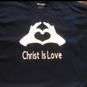 Unisex Christ Is Love T Shirt
