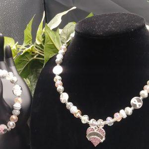 Survivor Women Cancer Necklace Set