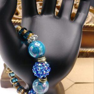Aqua Blue Bracelet