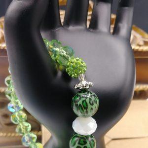 Tiger Green Bracelet