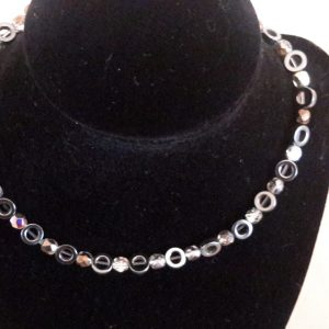 Roll-On Metal Medium Dog Necklace