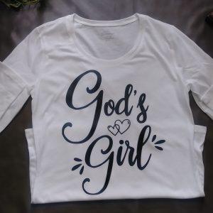 God s Girl Long Sleeve Crewneck Shirt