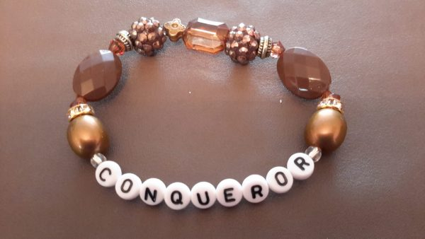 Roll-On Brown Conqueror Bracelet